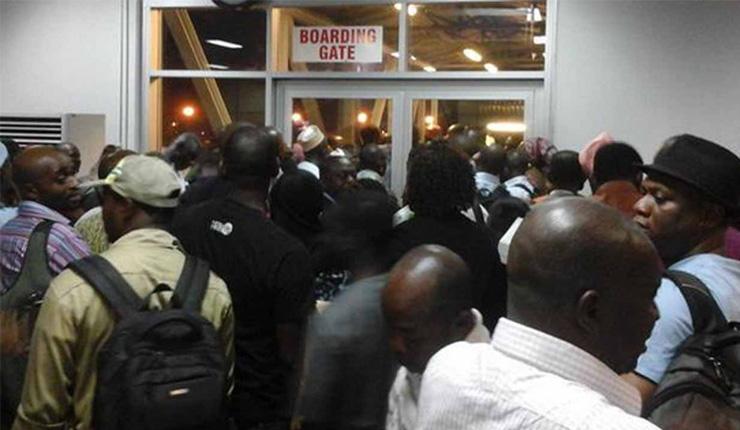 Arik Air, passengers squabble over cancellation of flights