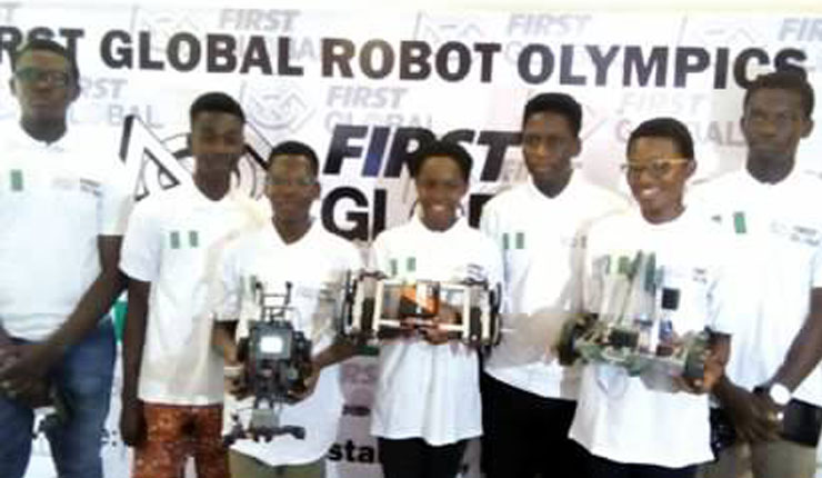 7 Nigerian students to fly country's flag at first global robot Olympics